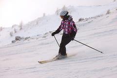 Skifahren Stockfotos