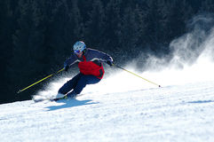 Skifahren Lizenzfreies Stockbild