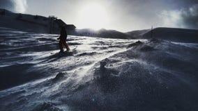 Skifahren lizenzfreie stockfotografie