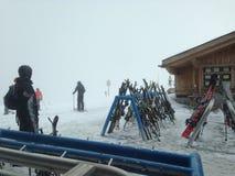 Skifahrenaufenthaltsraum Lizenzfreie Stockbilder