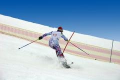 Skifahrer. lizenzfreies stockfoto