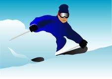 Skifahrer Lizenzfreie Stockbilder
