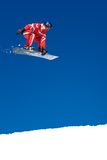 Skifahrer Stockfotografie