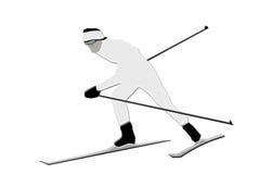 Skifahrer vektor abbildung