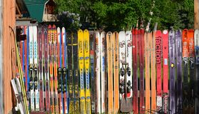 Skifence Photos libres de droits