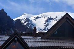 Skifield de Whakapapa de parc national de Tongariro Image stock