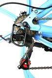 Skiftande system för cykelkugghjul som isoleras Royaltyfria Foton