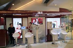 Skii shop in hong kong Royalty Free Stock Images