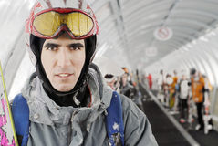 skiier Стоковые Фотографии RF