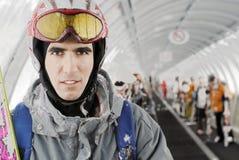 Skiier Fotografie Stock Libere da Diritti