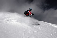 Skiing Stock Photos