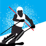 Skiing Stock Photography