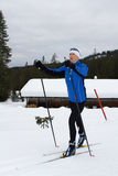 Skiing 5 Royalty Free Stock Image
