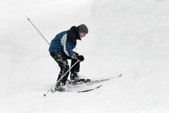Skiing Stock Image