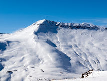 Skiing area Royalty Free Stock Photography