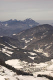 Skiing area in Soell (Austria) Stock Image