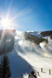 Skiing area Stock Photography