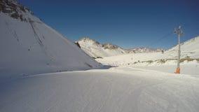 Skiing, Argentina Stock Image