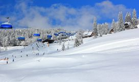 Free Skiing At Feldberg. Black Forest, Germany. Royalty Free Stock Images - 111429989