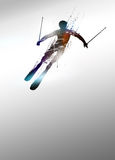 Skiing background Royalty Free Stock Photography