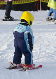 Skiing child Stock Image