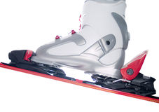 Skiing equipment Stock Images