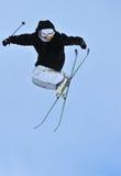 Skiing freestyle Royalty Free Stock Photos