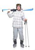 Skiing Stock Image