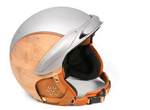 Skiing helmet Royalty Free Stock Images
