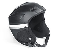 Skiing helmet Stock Photos