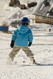 Skiing lessons Royalty Free Stock Photo