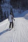 Skiing Man Stock Photos