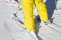 Skiing Royalty Free Stock Images