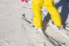 Skiing Stock Photography