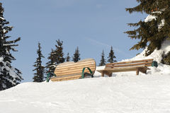 Skiing resort Stock Photos