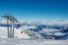Skiing resort Stock Photos