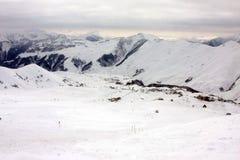 Skiing resort Gudauri in Georgia, Caucasus Montains. Skiing resort Gudauri at winter in Georgia, Caucasus Montains Stock Image