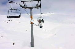 Skiing resort Gudauri in Georgia, Caucasus Montains. Skiing resort Gudauri at winter in Georgia, Caucasus Montains Royalty Free Stock Photos