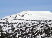 Skiing resort  Sheregesh Royalty Free Stock Image