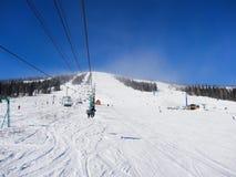 Skiing resort  Sheregesh. Stock Images