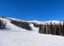 Skiing resort of Sheregesh Stock Image