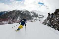 Skiing Royalty Free Stock Photography
