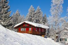 Skiing slope Stock Photo