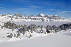Skiing slope Royalty Free Stock Image