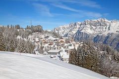 Skiing slope Stock Photos