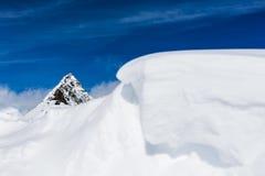 Skiing Stubai Glacier Royalty Free Stock Images