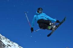 Skiing Stunt Royalty Free Stock Photo