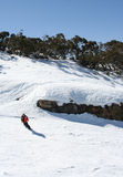 Skiing in Victoria, Australia Royalty Free Stock Image
