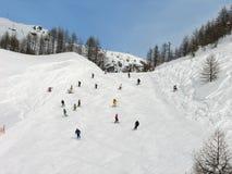 Skijahreszeit Lizenzfreie Stockfotografie
