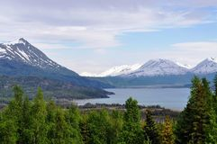 Skilak lake Alaska Royalty Free Stock Photo